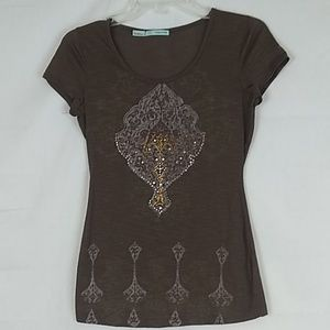 Maurices cap sleeve tee. Size Small.
